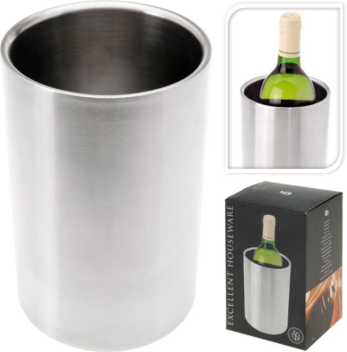 Chladič na víno,sekt, NR, d12cm, v.18cm