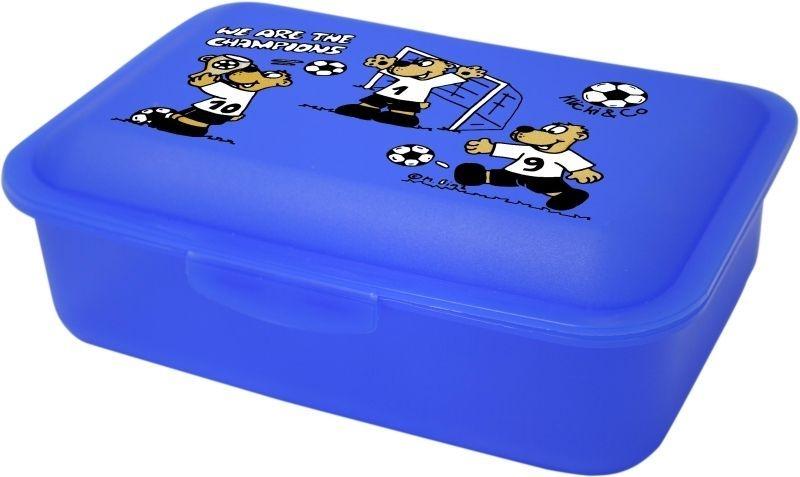Box  0,80l střední+potisk, klick uz., 16x11x5,5cm, plast