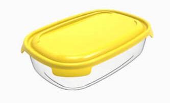 Box  1,0l PRIMO, 20,4x13,4x 6cm, plast