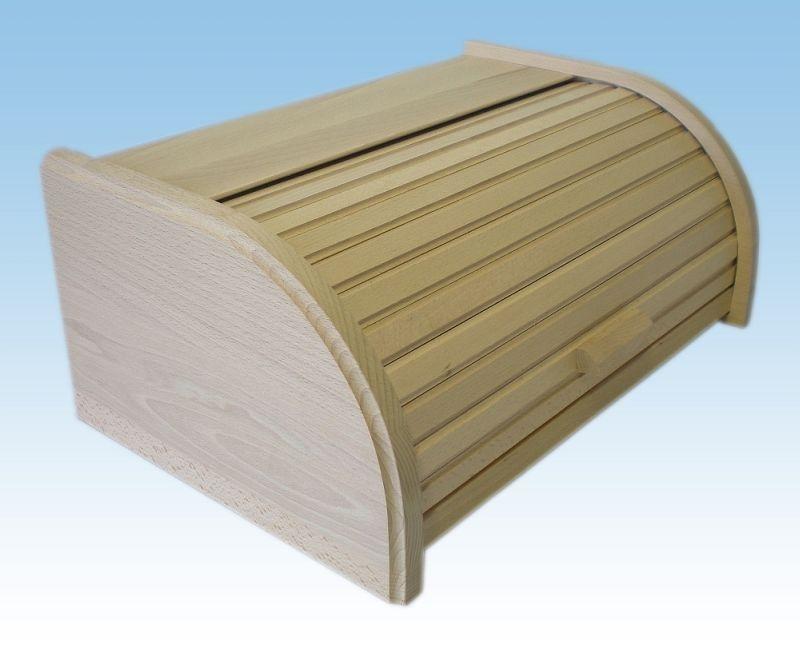 Chlebovka 42x28x18cm, svělá BK nelak., dřevěná