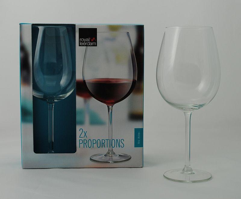 Sklen. 730ml, 2ks, PROPORTIONS víno