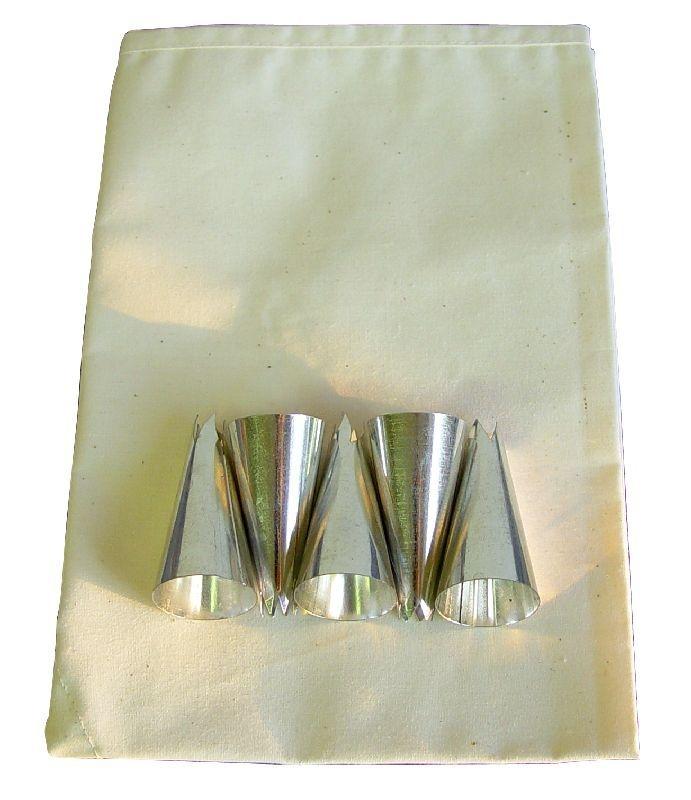 Sáček 37cm BAVLNA+5špiček, cukrářská soupr.