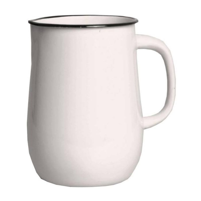 Džbán 2,5l 154/19, milk-sv.béžový smalt