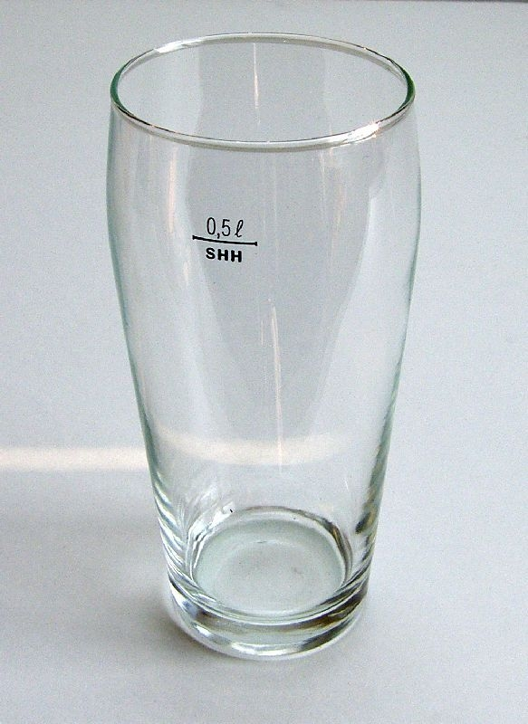 Sklenice na pivo 500ml VILÉM, cejch (1ks)