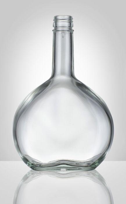 Láhev 0,5 l SAMTREST PLACATKA, šroub., sklo