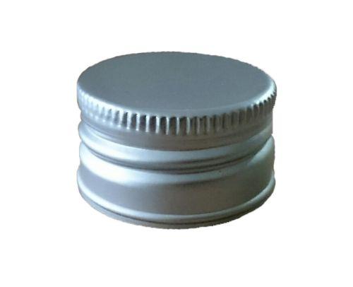 Zátka lahví SOUDEK, šroub.31,5x18, stříbrná (Al+korek) 1ks