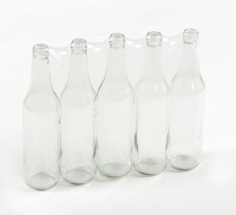 Láhev 0,5l LIEH (SPIRIT), šroubení, sklo (5ks)