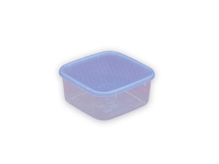 Box  0,50l hranatý 12x12x7cm, plast
