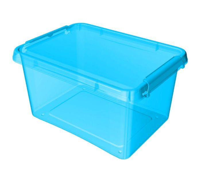 Box 12,5 l 39x29x16,5cm, modrý tr.plast