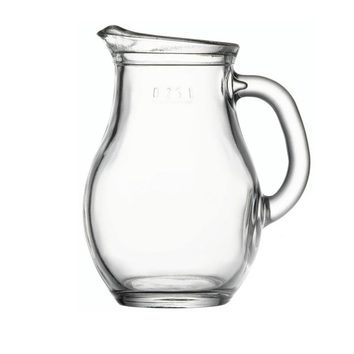 Džbán 0,25l BISTRO, sklo