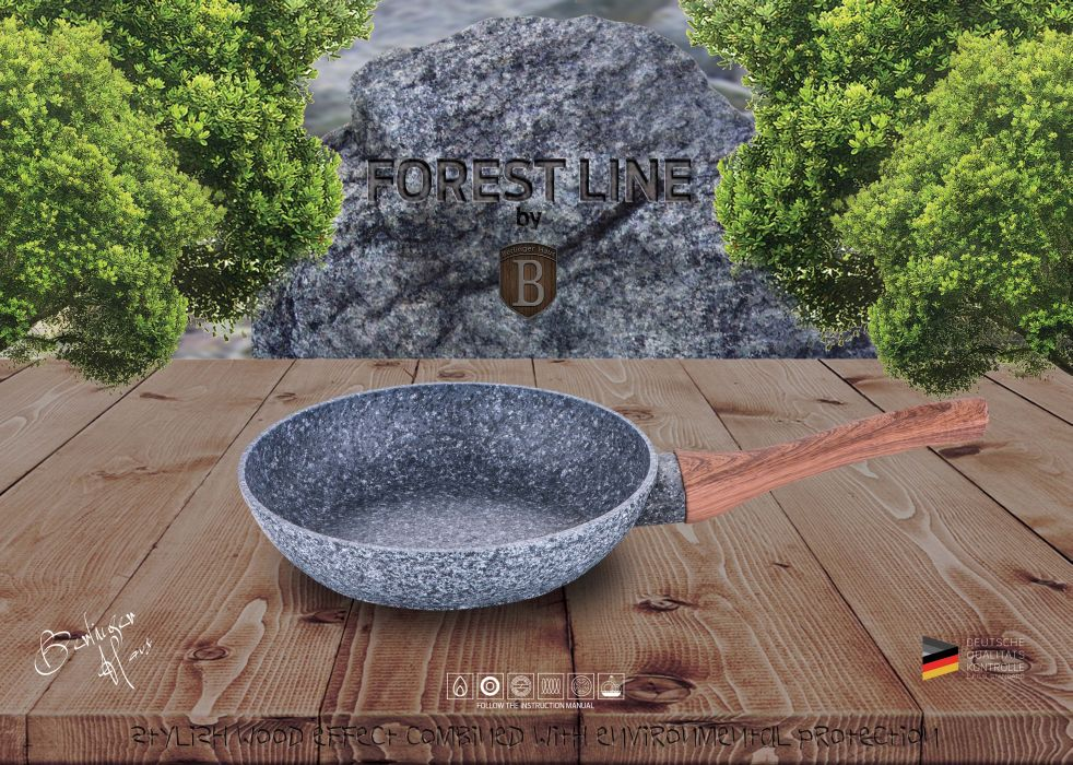 Pánev d28x5,4cm FOREST LINE, ind., mr.povrch