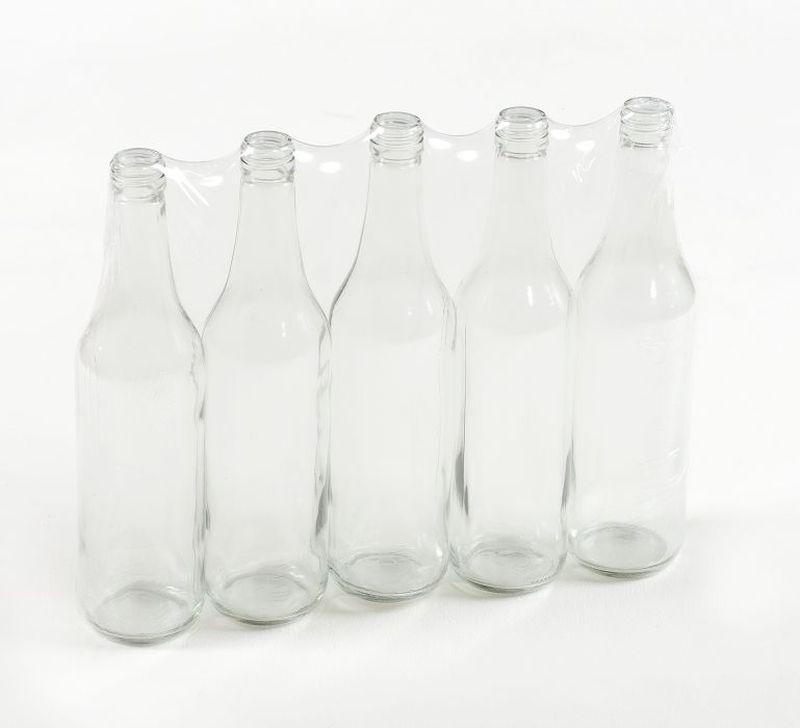 Láhev 0,7l LIEH (SPIRIT), šroubení, sklo (5ks)