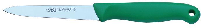 Nůž-1044-kuch.4 zelený, závěsný, NR/plast