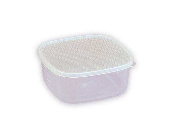 Box  1,20l hranatý 17x17x7cm, plast