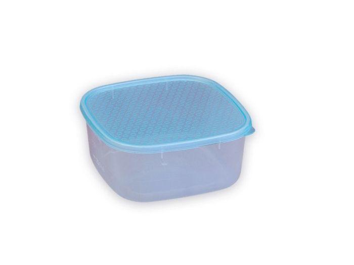 Box  0,90l hranatý 14,5x14,5x7cm, plast