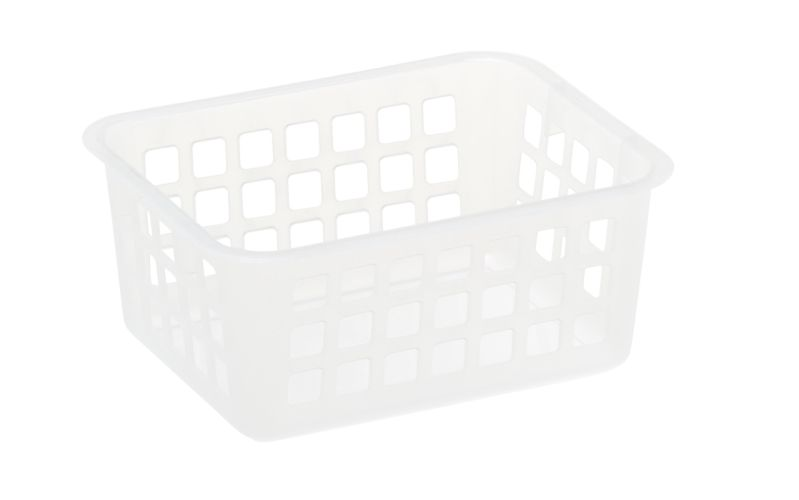 Košík A7, 14x11x 6cm, transp.plast