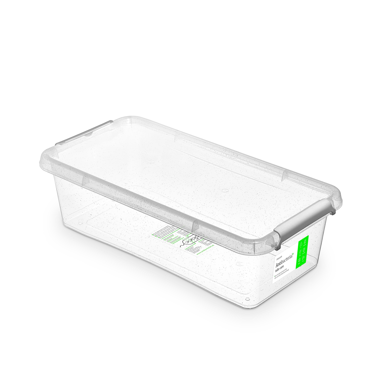 Antibakteriální box  6,0 l 40x20x11cm,transp.plast