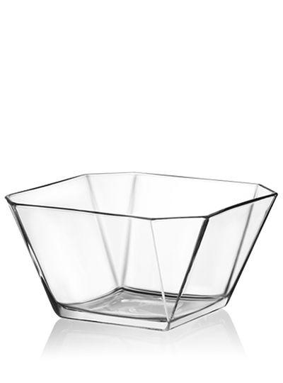 Mísa 1,9l salát. KAREN 19,6x19,6x10,5cm, sklo