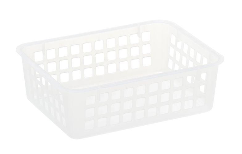 Košík A6, 19x14x 6cm, transp.plast