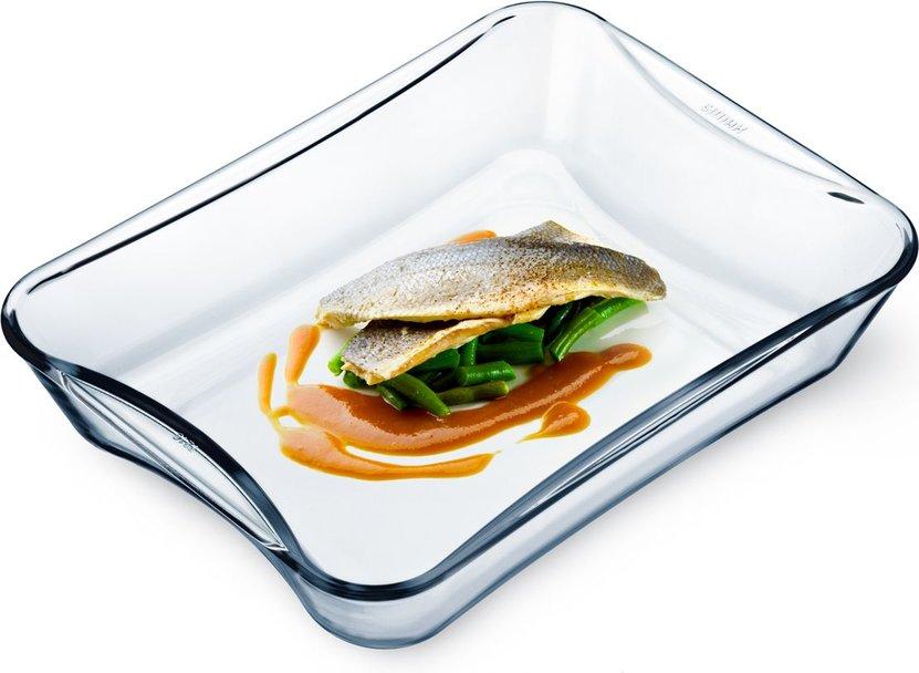 Mísa 2,5 l hran.EXCL.31x23x6,2cm,var.sklo,zapék. SIMAX