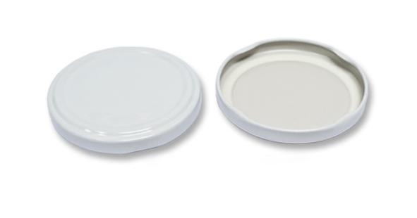 Víčko TWIST  66-10ks bílé na sklen.377ml.CZ