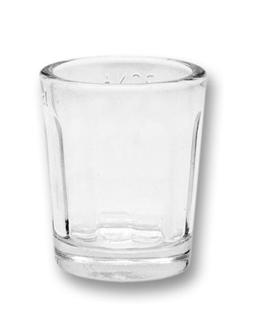 Sklenice - panákovka 20ml, lisovaná (1ks)