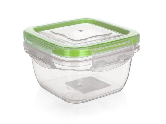 Box  0,275l MADEIRA,klick 100x100x 60mm,těs.silikon, plast