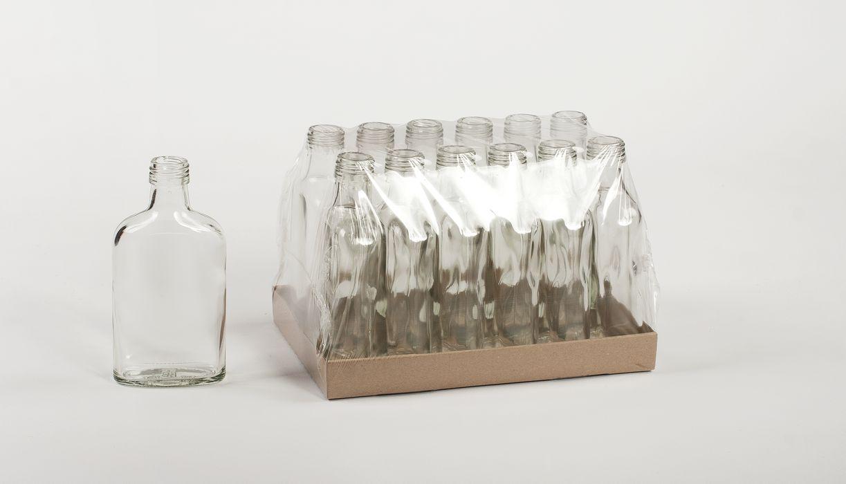 Láhev 0,2l PLACATKA, šroub.28, sklo (12ks)
