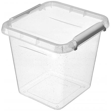 Antibakter.box  4,0 l 20x20x18cm,transp.plast
