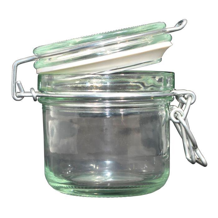 Sklen.zavař. 200ml DZK-dóza sklo  d8x9cm patentní