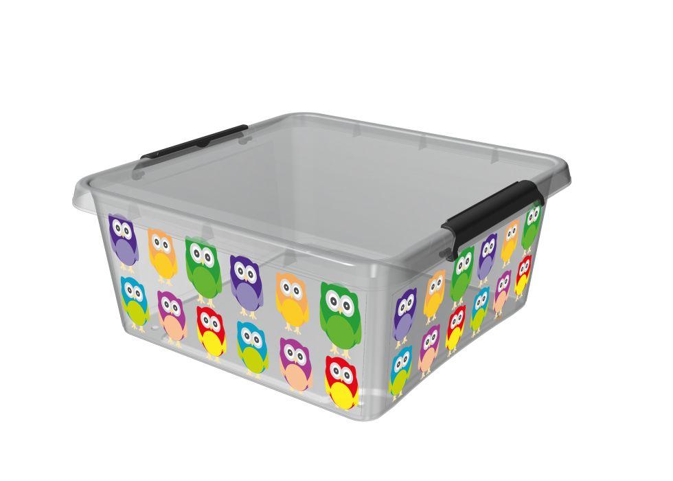 Box 18,0l 39x39x16,5cm,SOVA,děts. plast