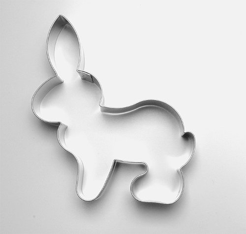 Vykr. 122-Zajíc, sedící 12,5cm