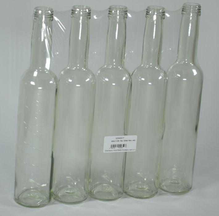 Láhev 0,35l Ejliker Alko, sklo (5ks)