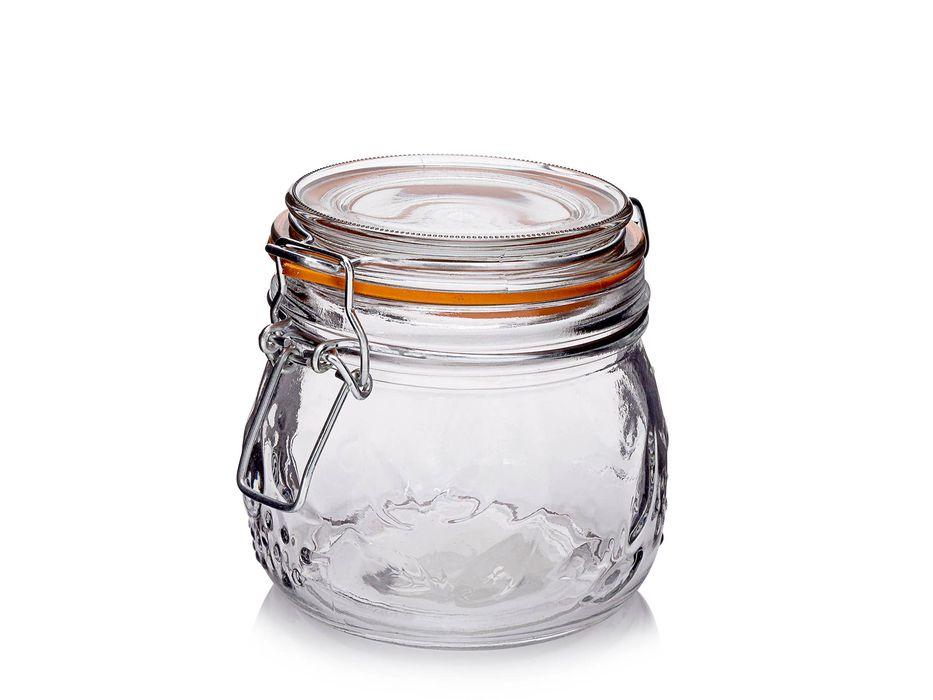 Dóza 0,50l d11x10,5cm, vlis ovoce, patentní, sklo