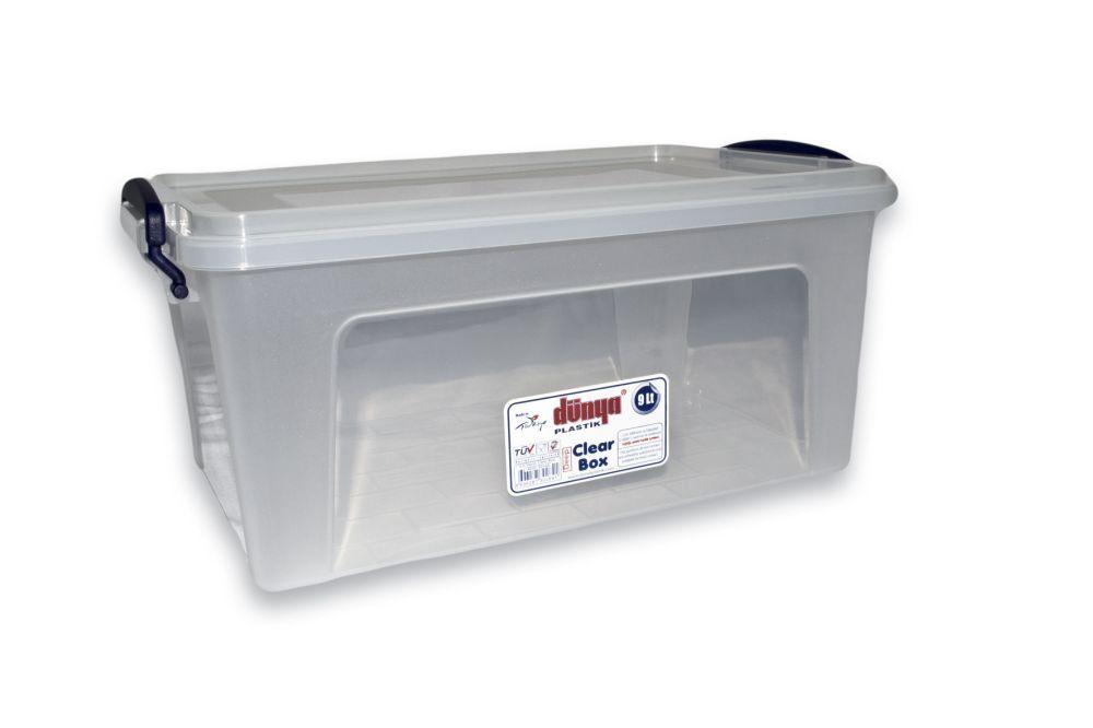 Box  3,0l CLEAR 25x17x12cm, plast