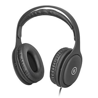 Defender Tune 125, sluchátka s mikrofonem, ovládání hlasitosti, černá, 2.0, 2x 3,5 mm jack